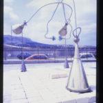 """""""Macchina per ascoltare il vento"""" 1992, Installazione site specific, materiali vari. Museo Civico di Gibellina (TP)"""